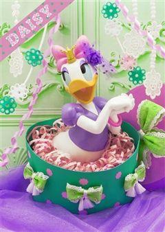 Disney DAISY Birthday Gift Box 3D Lenticular Greeting Card