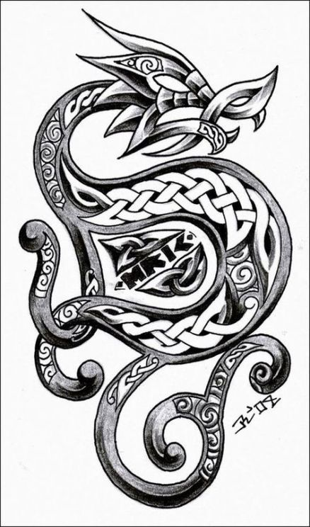 Best tattoo dragon drawing celtic knot ideas –