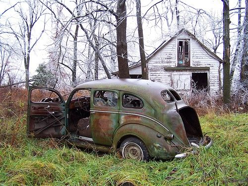 Photo Gallery Abandoned Cars And Trucks Vehicular