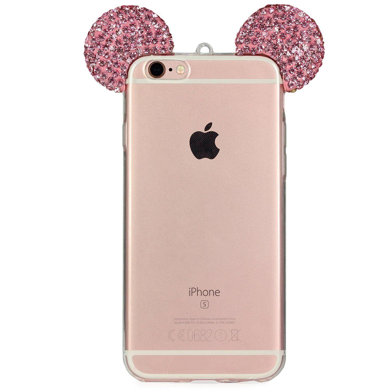 Der Aktuellste Trend Apple Iphone 6 6s Handyhulle Von Original Urcover Deutscher Fachhandel In Der Mickey Mouse Bling Ear Apple Iphone 6 Iphone Iphone 6