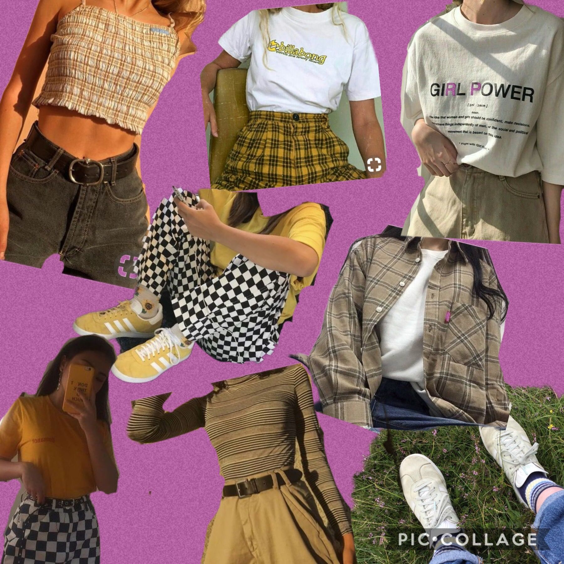 Pin By Banky On Fashion Icon Vintage Outfits Thrift Fashion Cute Outfits
