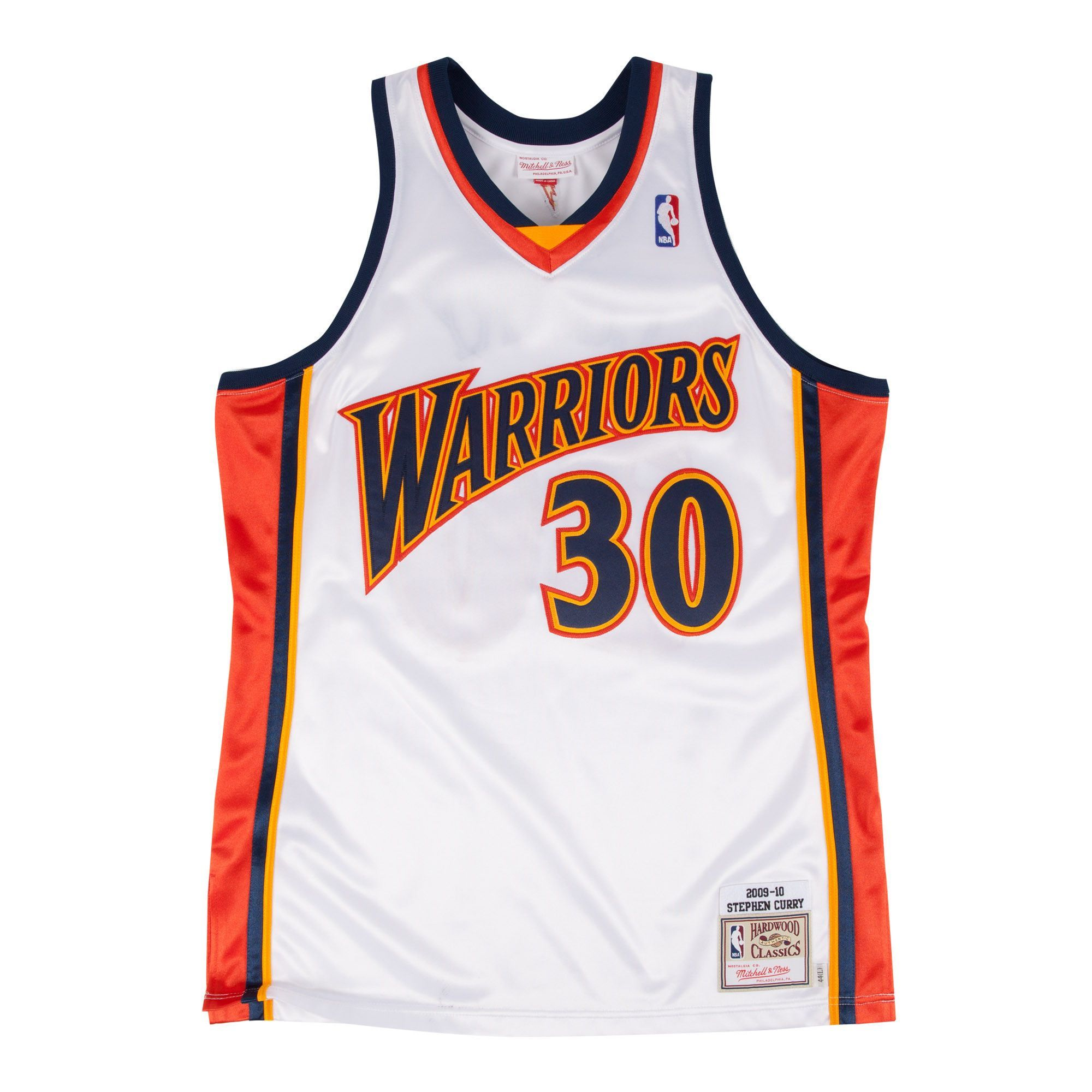 factory authentic 6ef10 c996b Throwback Vintage #30 Stephen Curry White Golden State ...