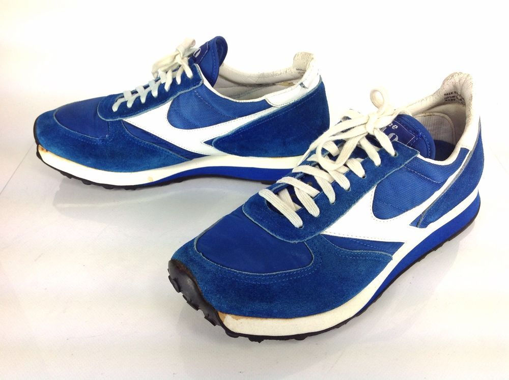 Men's Sears Vintage The 440 Blue Athletic Running Shoes US