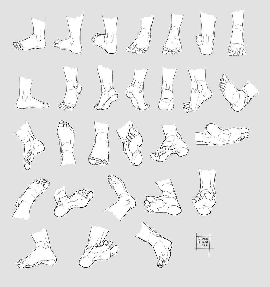 http://damaimikaz.deviantart.com/art/Sketchdump-October-2016-Feet-641150957