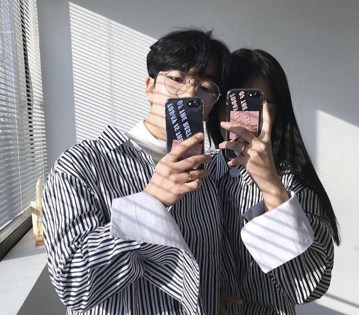 Pin oleh rafaela di Korean Cute | Ulzzang couple, Couples ...