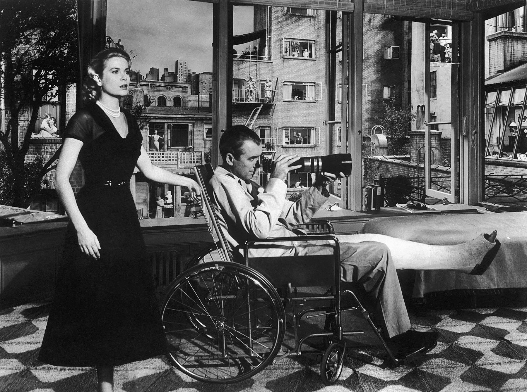 james stewart rear window grace kelly grace kelly window   rear window starring james stewart grace kelly