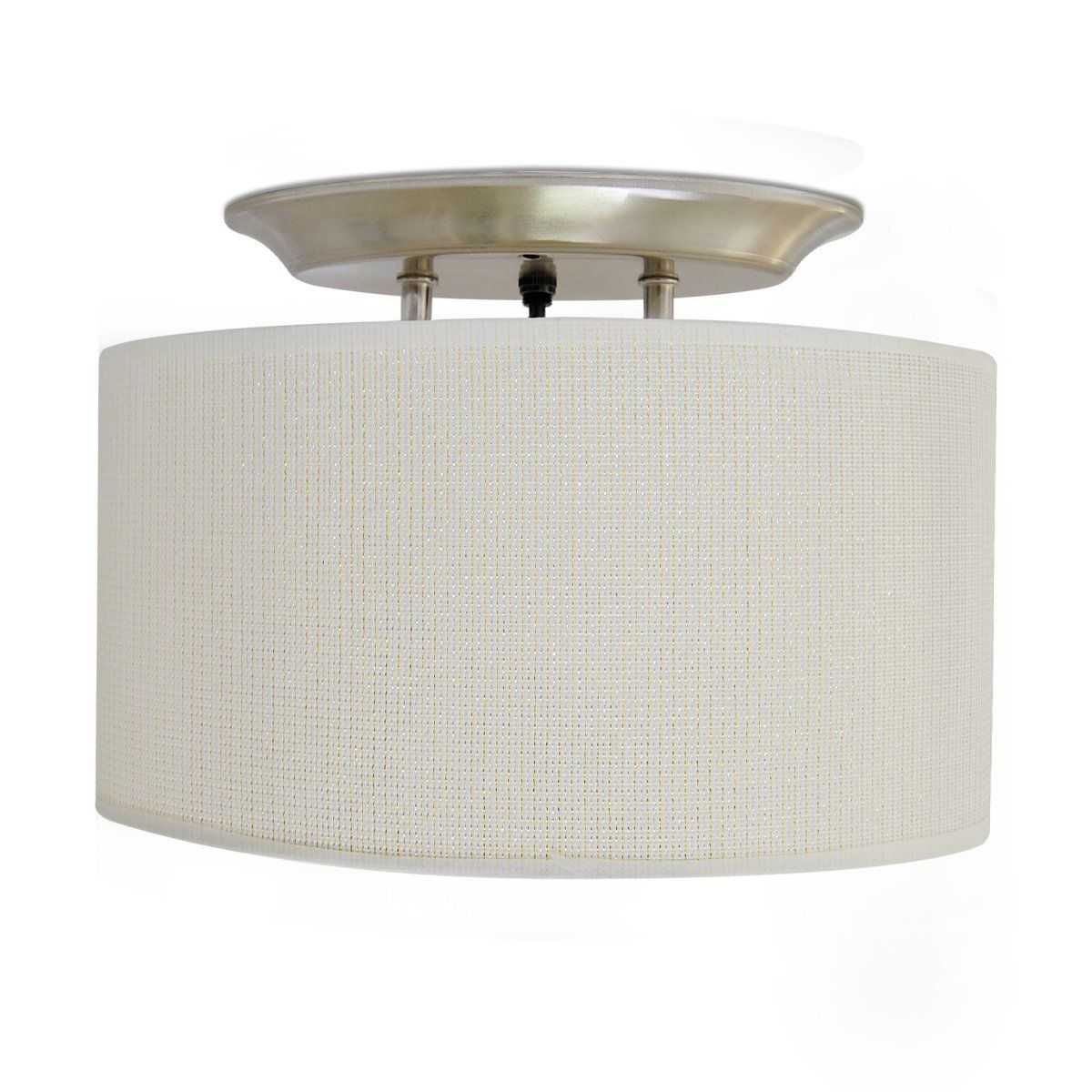 Amazon Com Dream Lighting 12v Fabric Light Fixture With White Elliptical Ceiling Light Shade With On Off Switch Led Decor Lamp Led Decor Light Fixtures Lamp