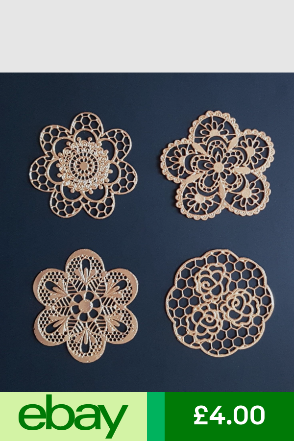 Decorations Cake Toppers Home Furniture Diy Ebay Edible Lace Lace Flowers Cake Lace