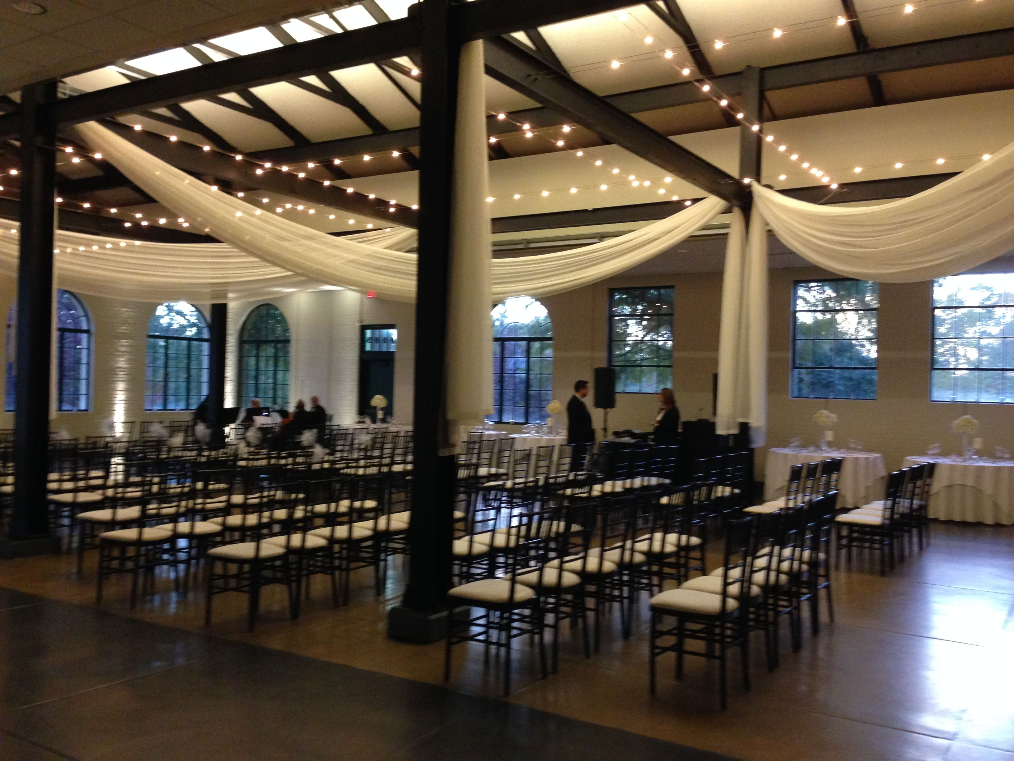 Wedding Ceremony At The Visitor Center In Forest Park Is Managed By