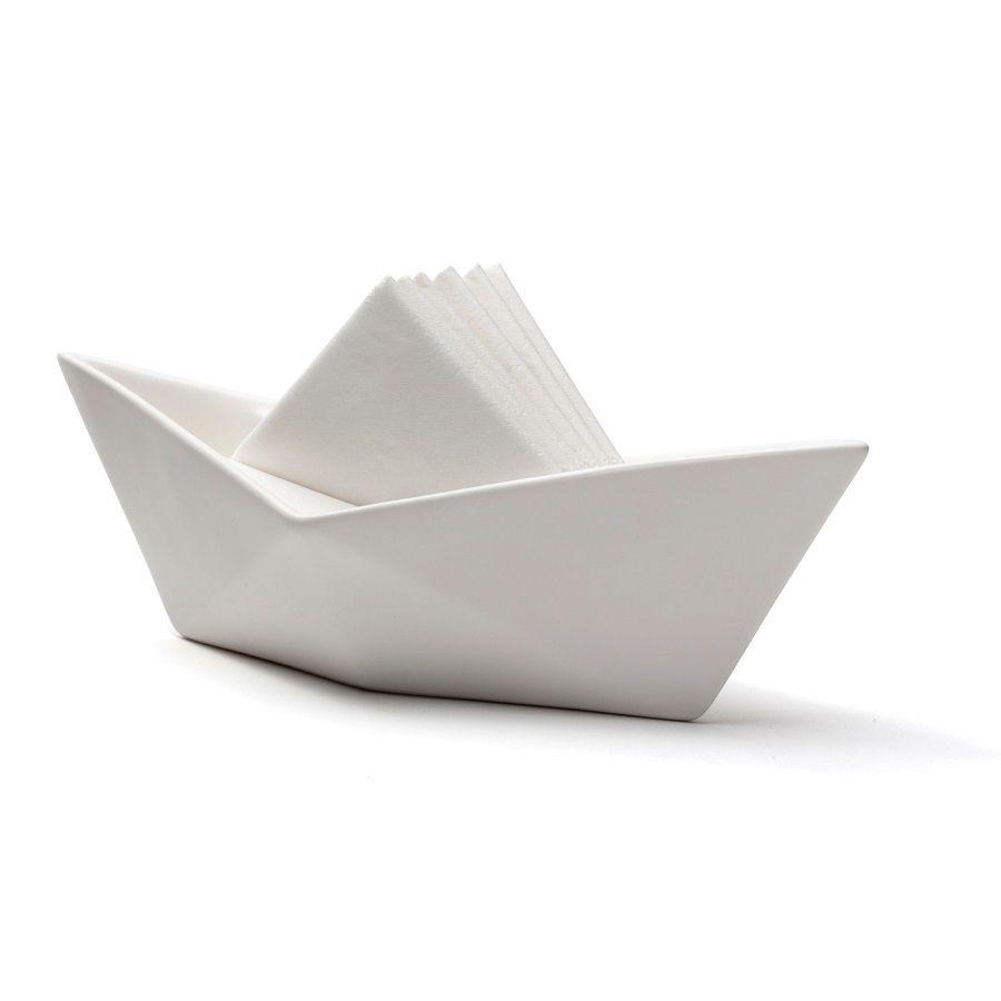 Serviettes En Papier Originales set sail   présentoir original serviettes papier   pa design