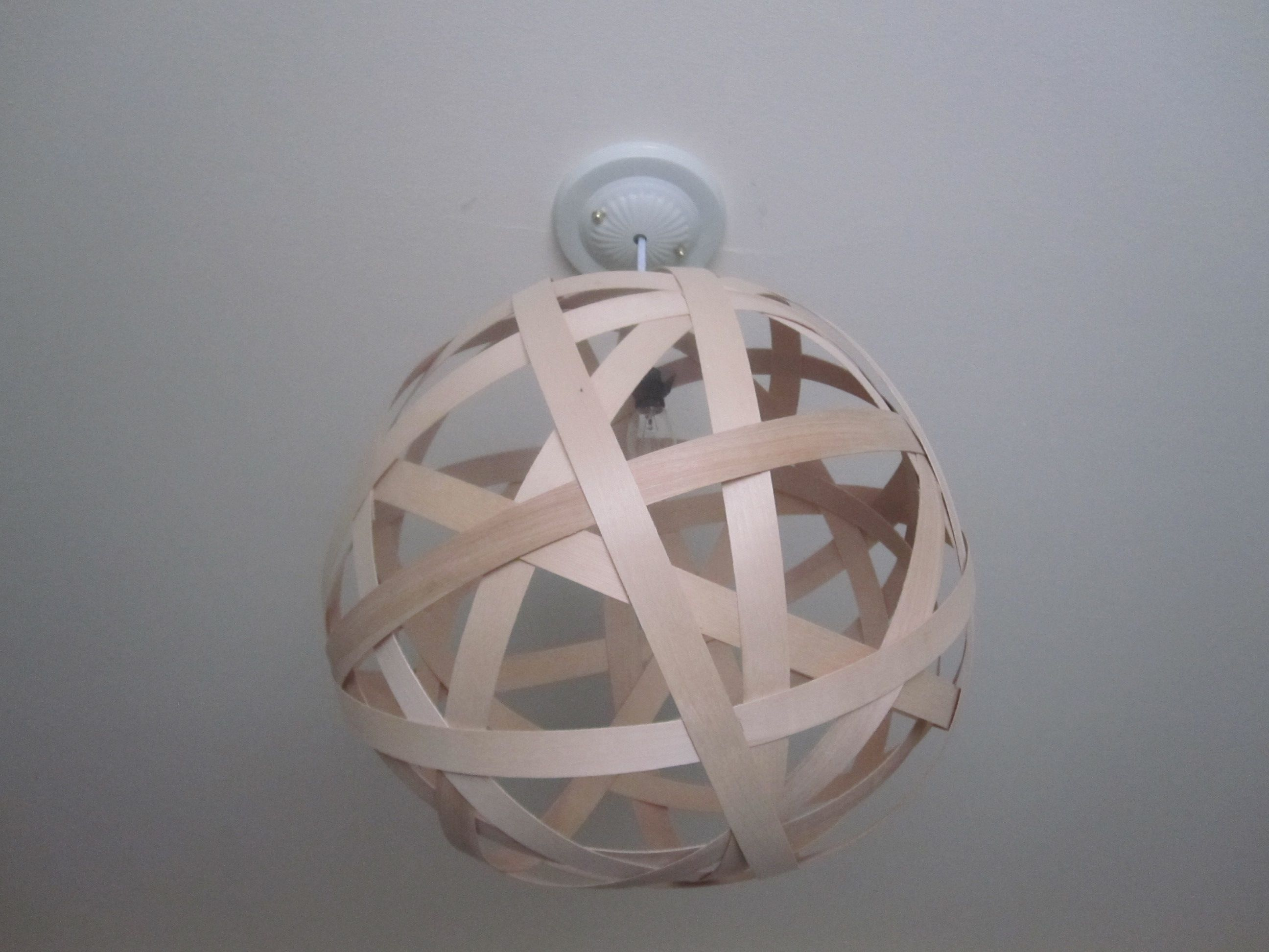 The moooi random pendant knock off globe lights wood veneer and diy wood veneer globe light tutorial could be very modern as is mozeypictures Images