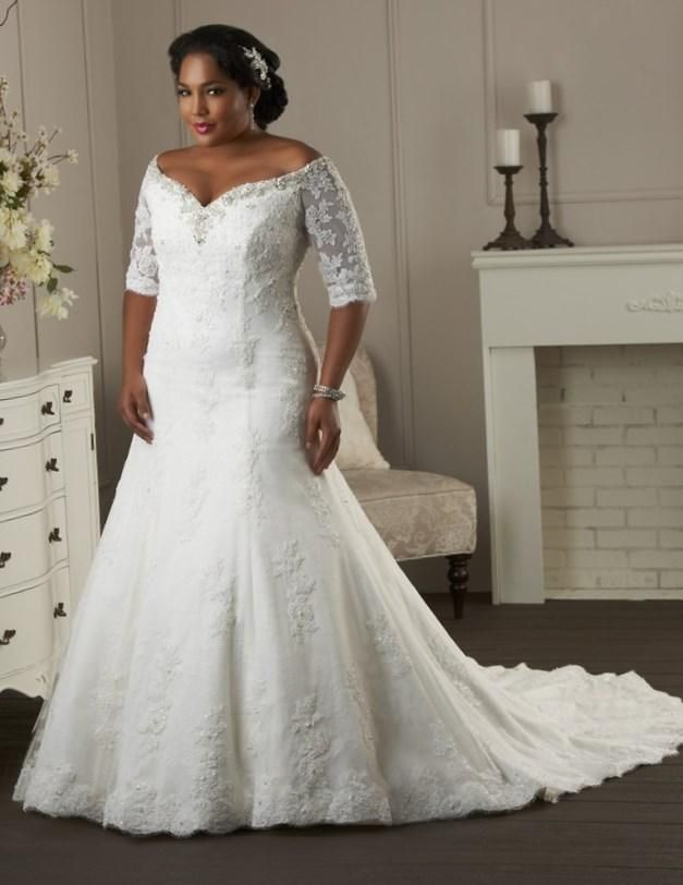 Gorgeous Plus Size Wedding Dresses   Http://pluslook.eu/wedding/