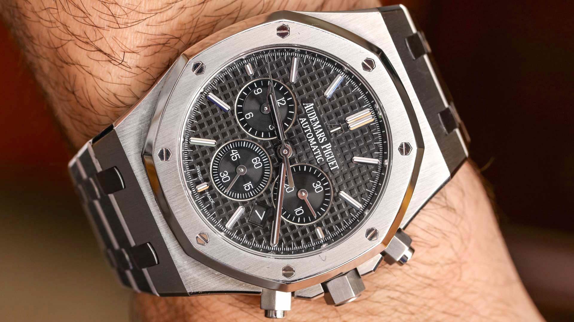 Audemars Piguet Royal Oak Chronograph 41mm Watch Review With