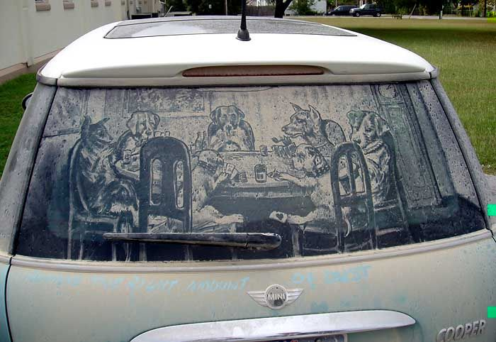 Dirty Car Art Weird Wonderful Pinterest Artist Creative - Scott wade makes wonderful art dusty car windows
