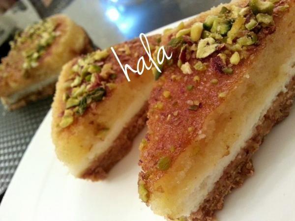 تشيزكيك البسبوسة من أيمن العطار Basbousa Cheesecake by Ayman Al Aatar