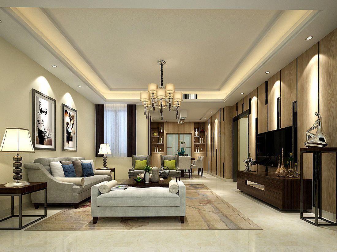 Wc Family Living Room Restaurant Design 3d Model Cgtrader