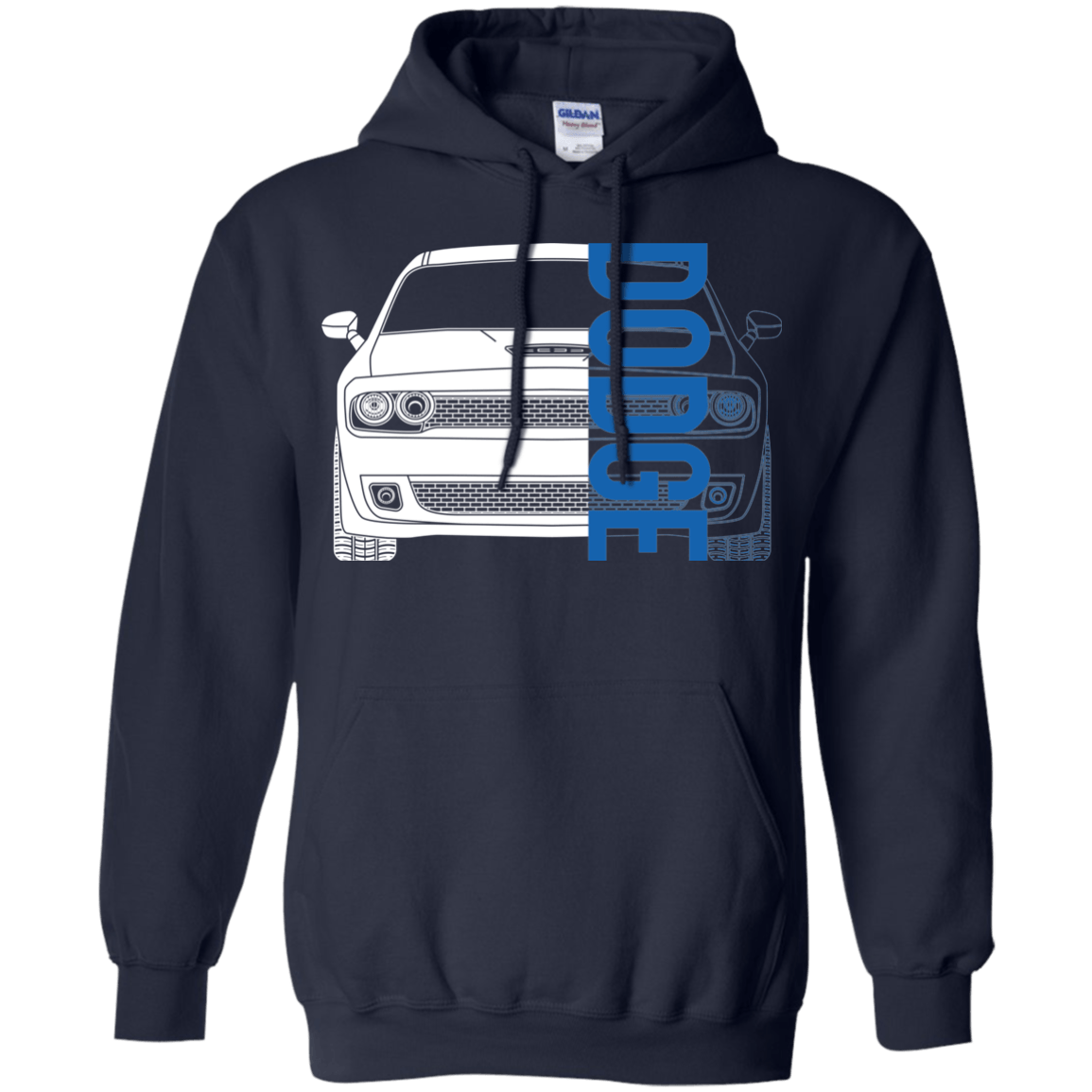 Dodge Challenger Hellcat Srt Double Sided Hoodie Hoodies Chevy Pullover Hoodie
