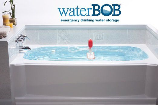 Waterbob Emergency Water Storage In Your Bathtub It S A Giant Bag