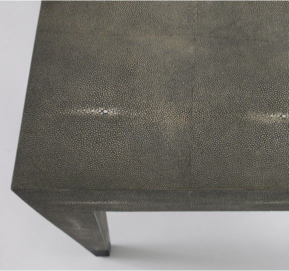 New Klein Coffee Table in Grey Shagreen