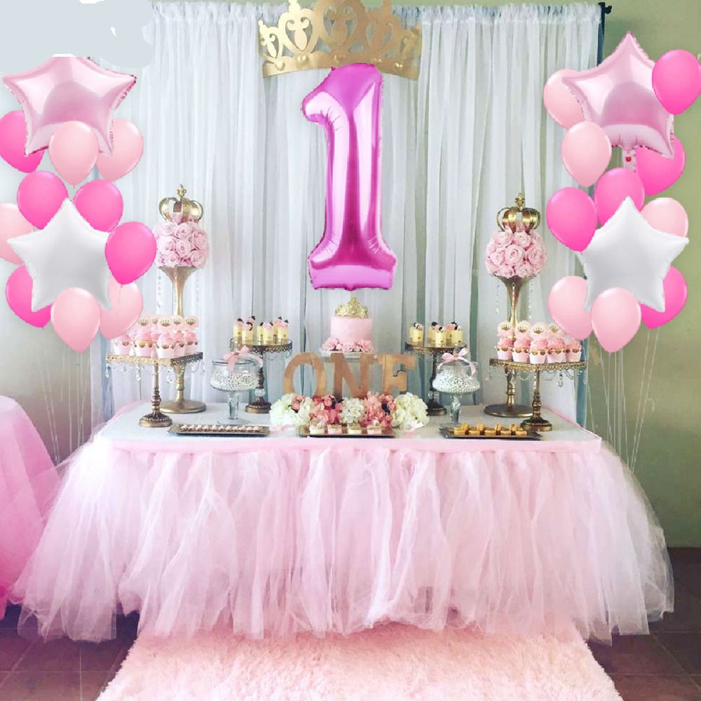 1st Birthday Party Decoration Kids Foil Balloons Price 654 FREE Shipping KidsBrithday
