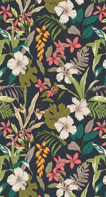 44  Ideas for wallpaper pattern floral tropical prints