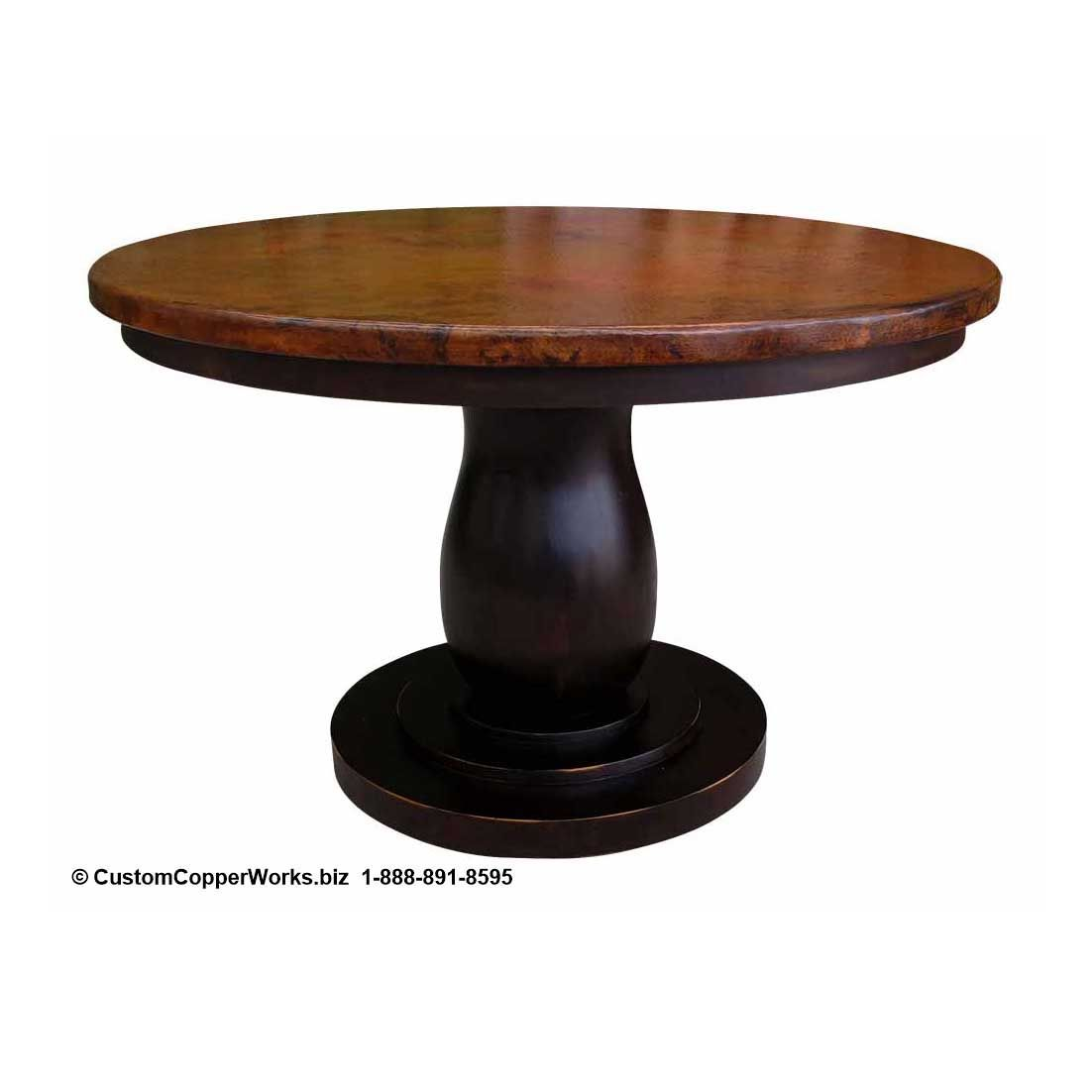 Copper Top Round Dining Table Ad85b49b922f42873be16839d66b5d0d Copper top round dining table ad85b49b922f42873be16839d66b5d0d