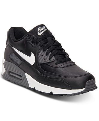 Nike Men s Air Max 90 Essential Running Sneakers from Finish Line -  Sneakers   Athletic - Men - Macy s 1e95e7b08