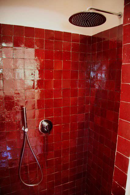 artetsud.com Zellige DOUCHE 10X10 R1 | Red Rooms en 2019 | Zellige ...