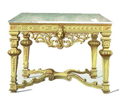 Louis Xiv Bankje.Louis Xiv Console Table In 2020 Baroque Furniture Wall Clock