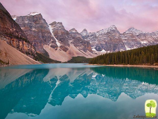 ледниковое озеро | Озеро морейн, Озера, Красивые места