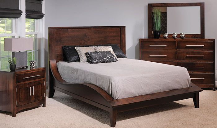 Yutzy Amish Bed, Found At Furniture Fair! Love!
