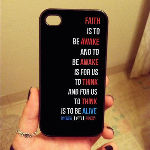 reputable site b8a37 897cd Twenty One Pilots iPhone 4/4s, iPhone 5/5s, iPhone 5c Case, Samsung ...