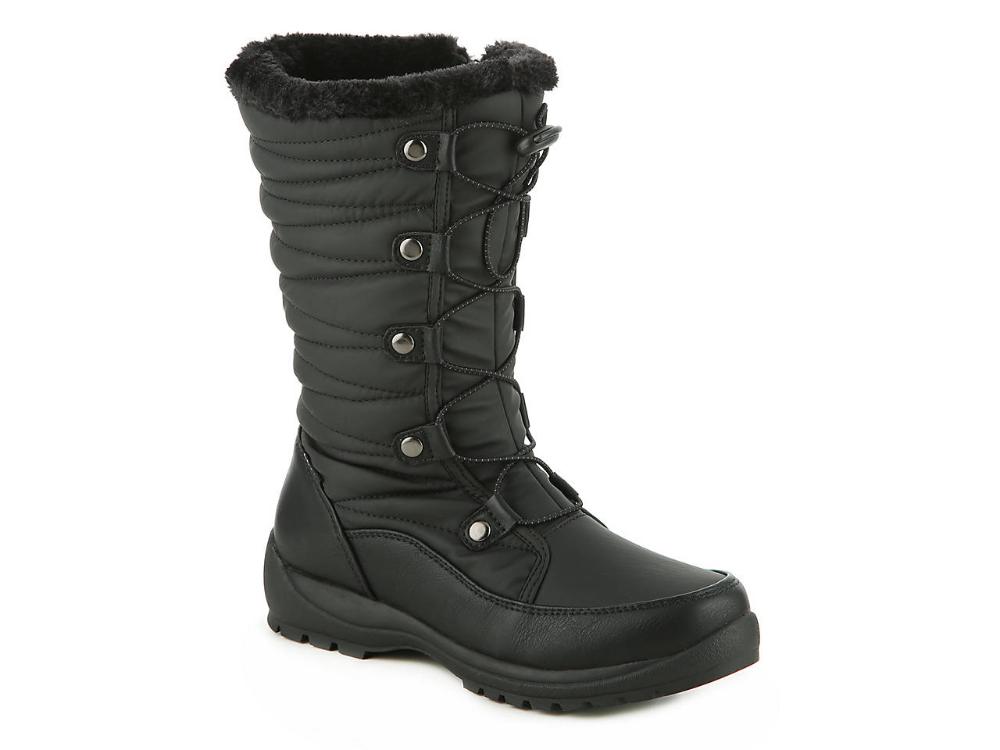Women Caddie Snow Boot -Black