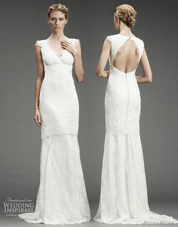 Nicole Miller Wedding Dresses Fall 2010 Silk DressesLace
