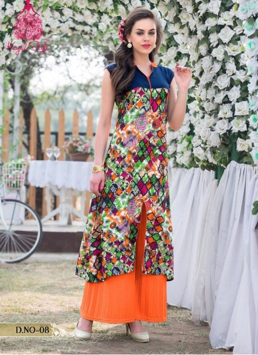 Buy Heavy Rayon Printed Kurti | Supplier