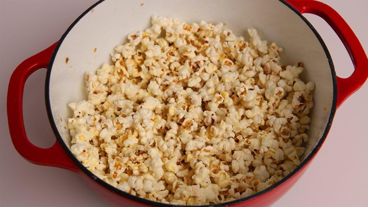 Butter Parmesan Popcorn Recipe - Laura Vitale - Laura in the Kitchen Epi...