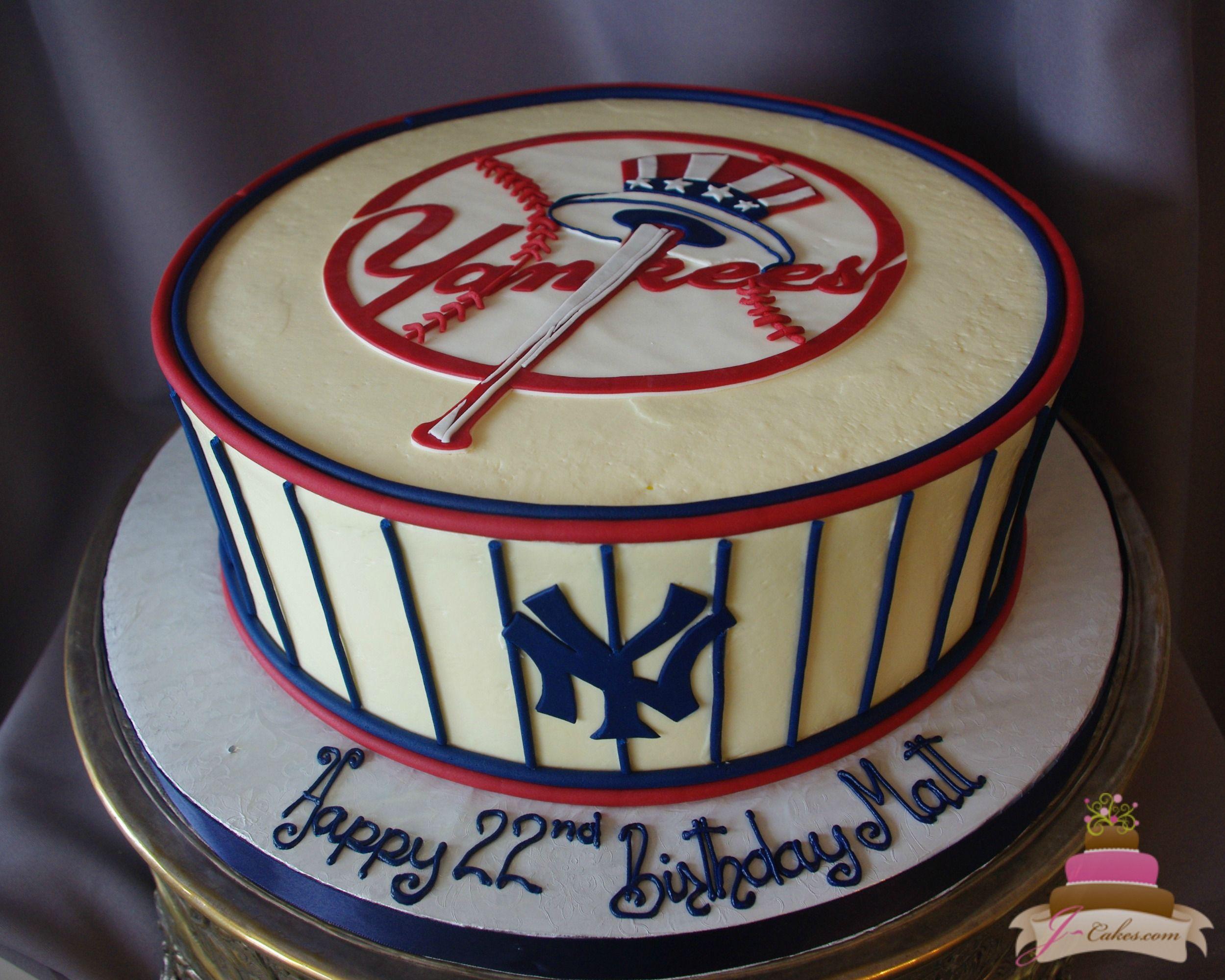 Birthdays Jcakes Yankee Cake Cake 50th Birthday Cake