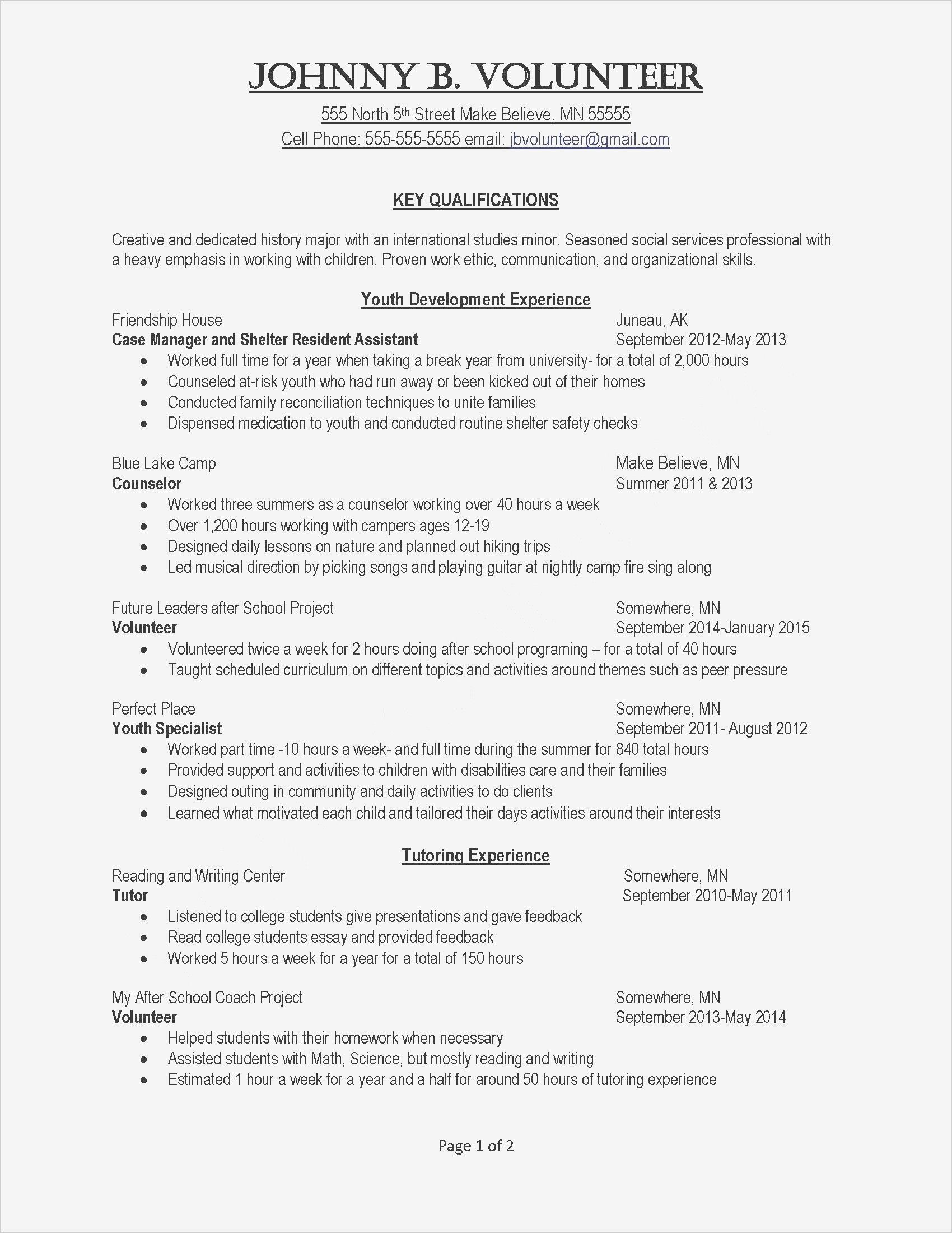 Best Of Examples Of A Covering Letter For A Job Job Resume