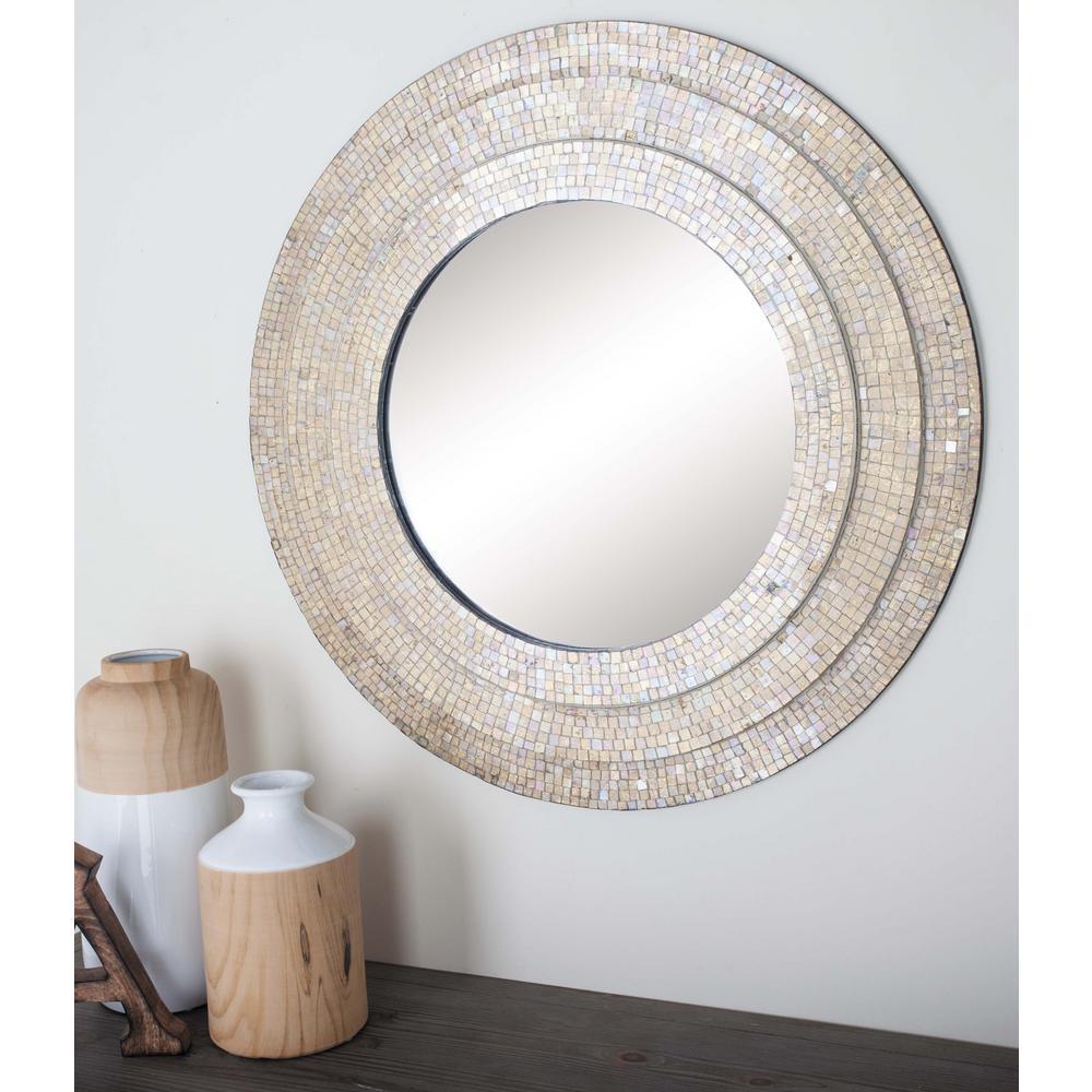 Litton Lane 30 In Modern Mirror Wall Framed Mirror Wall Frames On Wall