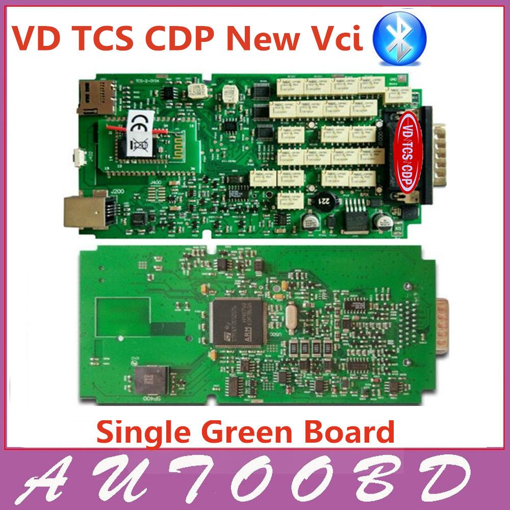 2pcs Lot Dhl Free Single Board New Vci Cdp With Bluetooth Vd Tcs Scaner Mobil Easydiag Dan Full Sotfwere Pro Plus Nec Relay Obd Obdii Cars Trucks Mechanical Testers Affiliate