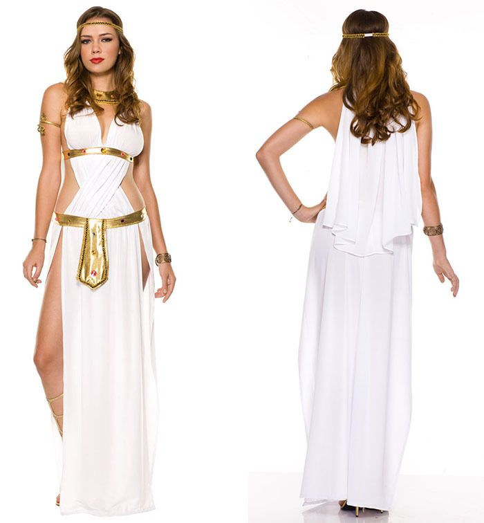 Adult Fancy Dress For Women Goddess Venus Costumes ...