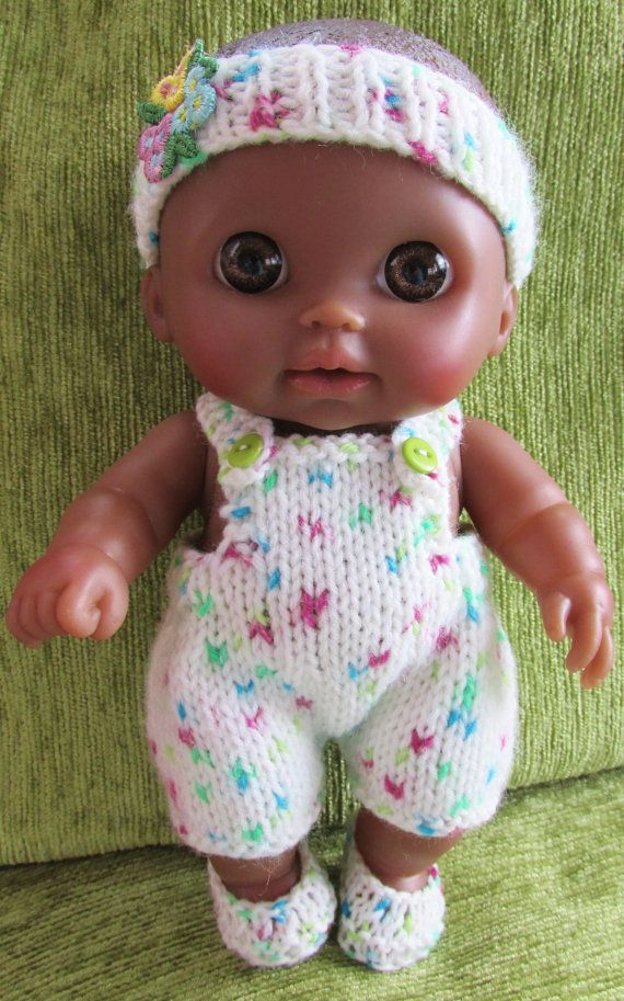 Knitting Pattern For Berenguer Lil Cutesies Dolls Clothes Knit