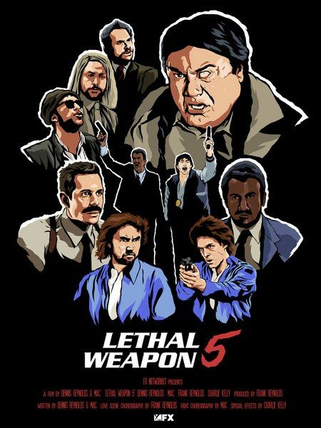 lethal weapon 5 promotional poster it s