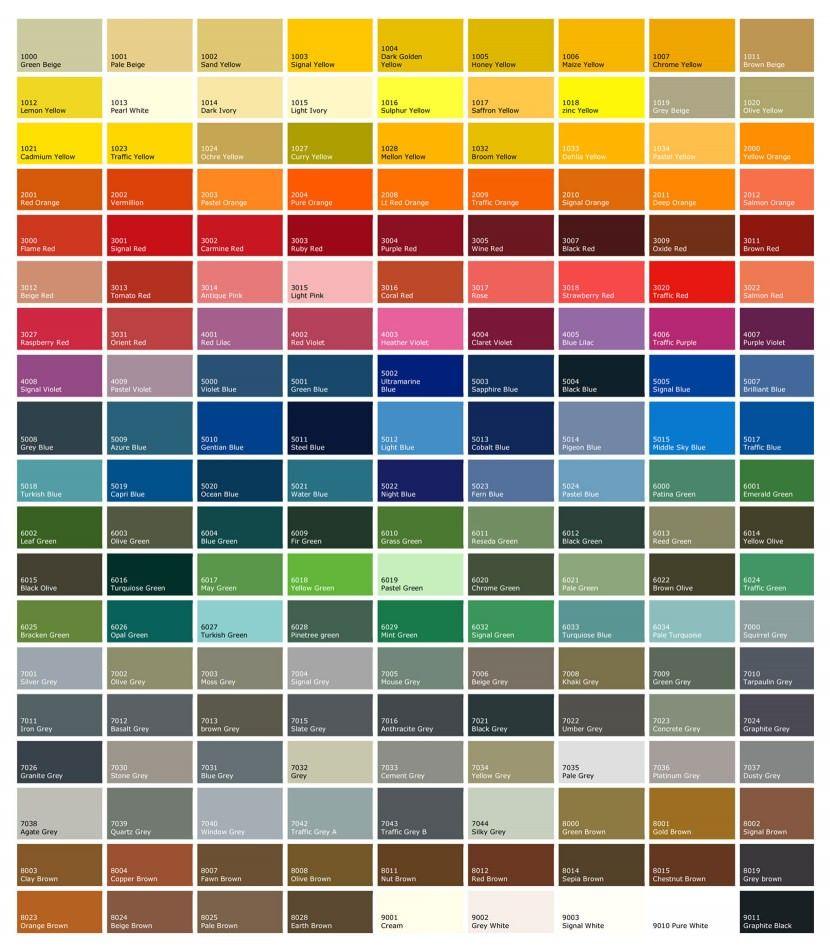 Ral colour chart 830x948g 830948 pixels windows pinterest ral colour chart 830x948g 830948 pixels nvjuhfo Choice Image
