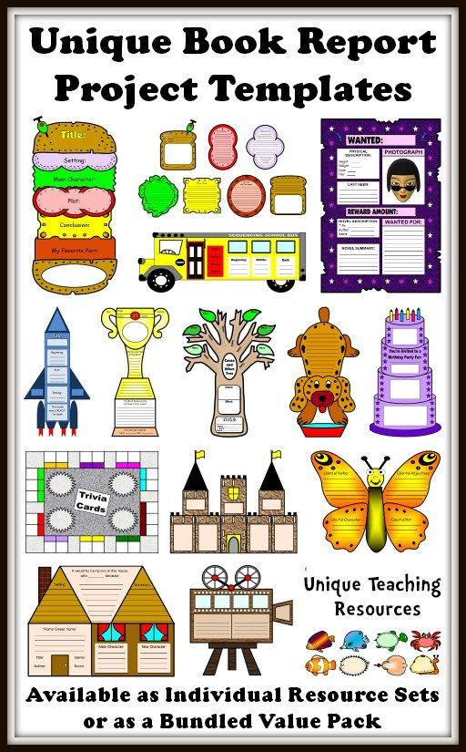 25+ Book Report Templates Extra large, fun, and creative book - school book report template