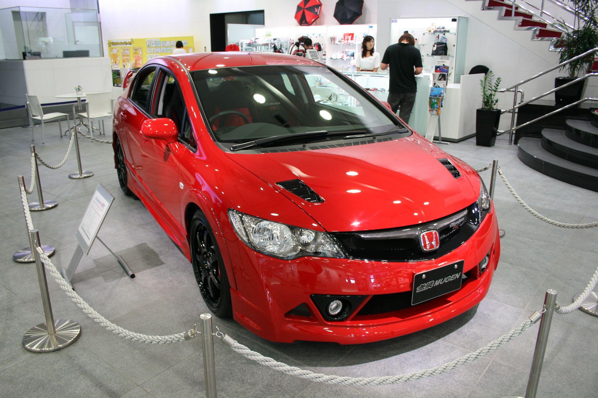 Honda Civic Mugen Rr Honda Civic Type R Honda Civic Honda Civic Si Hatchback