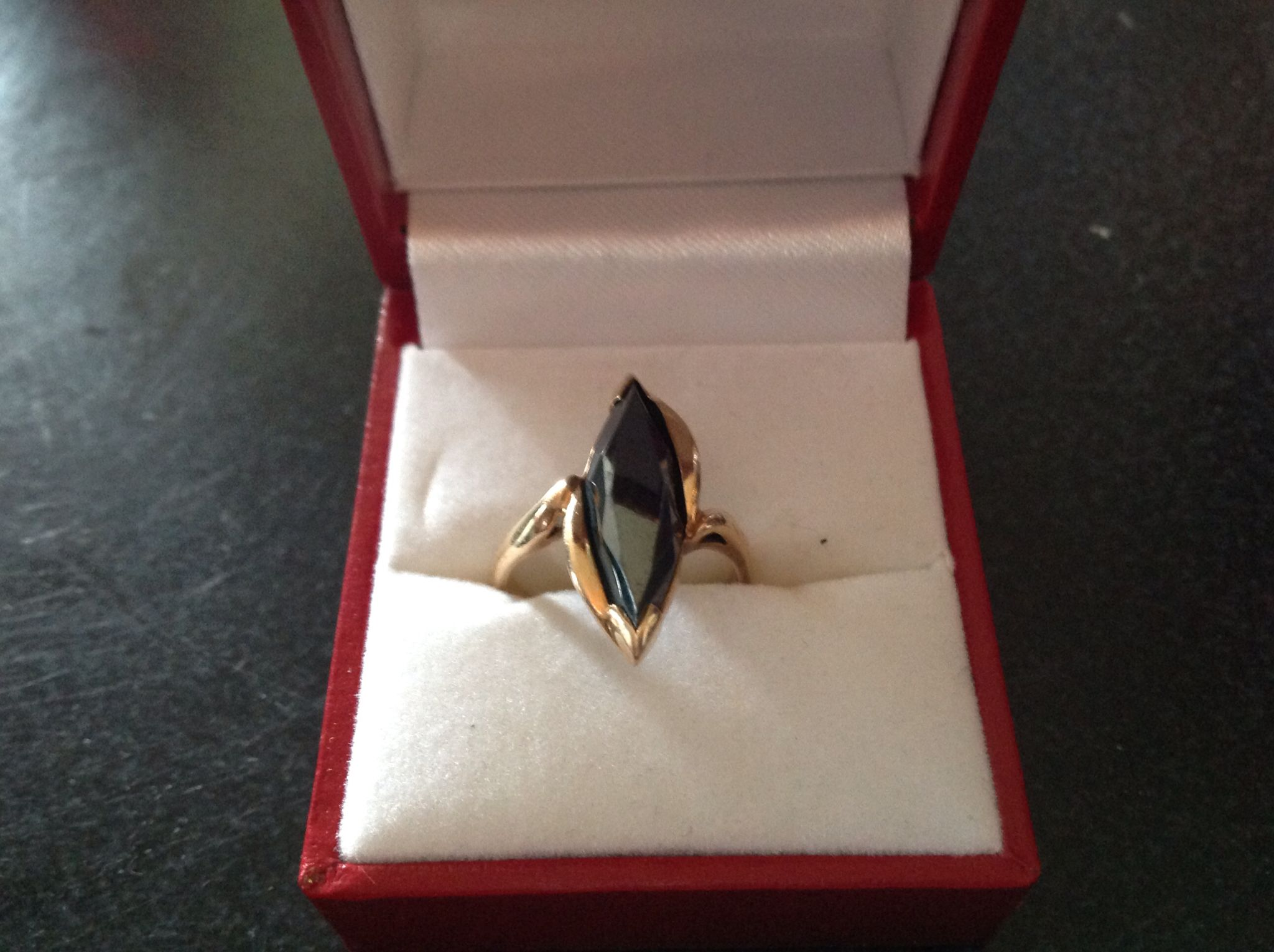 Vintage Alakan Black Diamond Ring In Mint Condition Sz 6 10 Carat Gold Lovely Engagement Ring 80 Black Diamond Ring Vintage Diamond Rings Women Rings