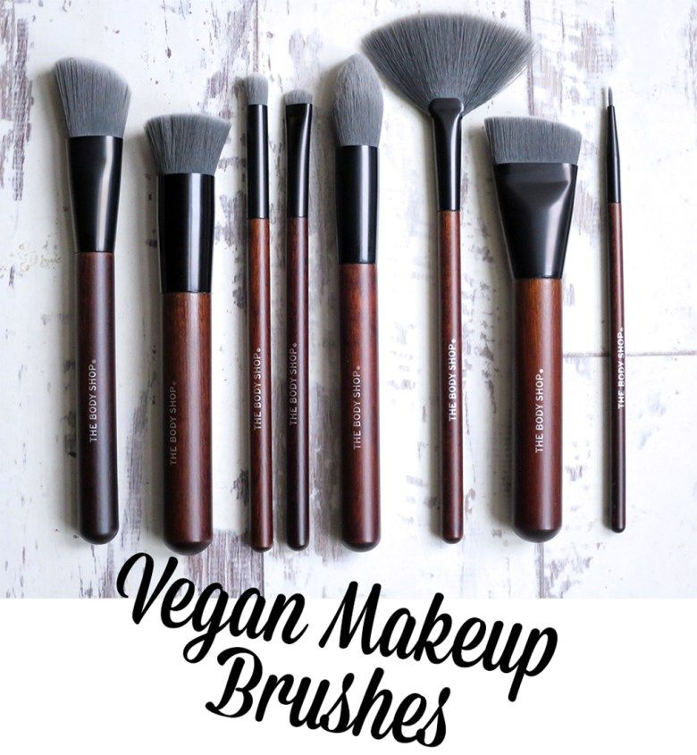 The Body Shop Vegan Makeup Brushes Body shop skincare