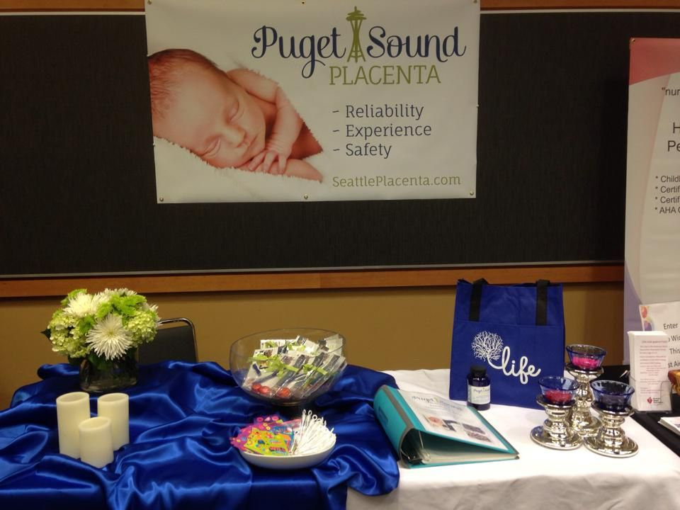 booth expo fair ideas for doulas midwives placenta