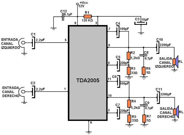 Circuitos de amplificadores, aquí hay variedad de